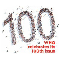 WHQ celebrates its 100th issue