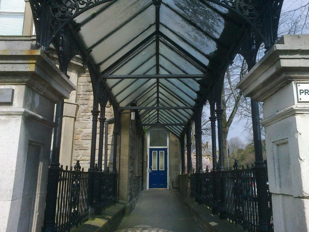 Highly commended: Helen Matthews - entrance porch, Princes Court, Cardiff
