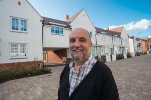 David Palmer of The Wales Co-operative Centre pictured at the Loftus Garden Village development in Newport © Roger Donovan, Media Photos